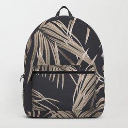 Sepia Palm Leaves Dream #1 #tropical #decor #art #society6 Backpack