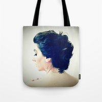 inspiration Tote Bags featuring Inspiration by Arevik Martirosyan