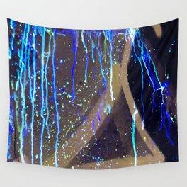 Graffiti & Glow Paint Wall Tapestry