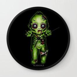 Zombie Kewpie Wall Clock
