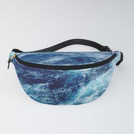 Rough Ocean Waves Fanny Pack