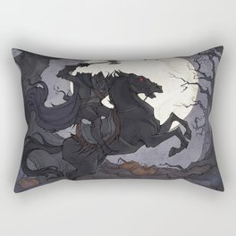 The Headless Horseman Rectangular Pillow