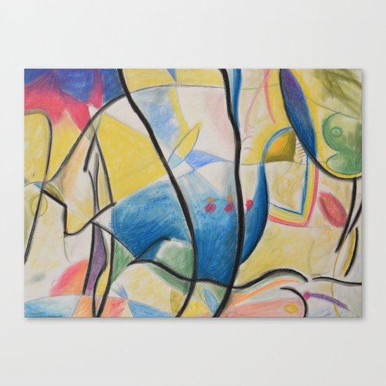 Figure Dance Canvas Print