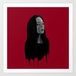 Bad Blood II Art Print