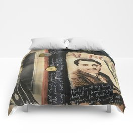 Close Your Eyes Jazz age glamour Comforters