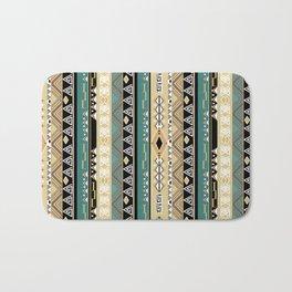 Ethnic stripes. Tribal pattern Indians. Bath Mat