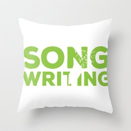 Songwriting  Sport in the Name Throw Pillow