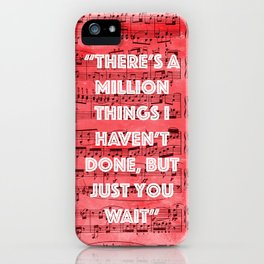 Million Things iPhone Case