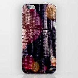 When the light shines through darkness iPhone Skin