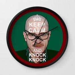 Heisengberg / Walter White Keep Calm Wall Clock