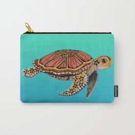Sea Turtle Totem Carry-All Pouch