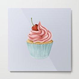 Delicious Cupcake Metal Print