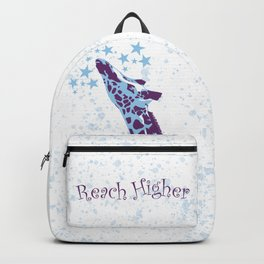Giraffe Reach Higher Backpack