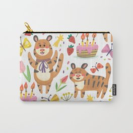 Tiger's Birthday Carry-All Pouch