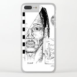 """""""90210"""" by Mauri Clear iPhone Case"""