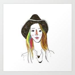 Lorena - SuperFriends Collection Art Print