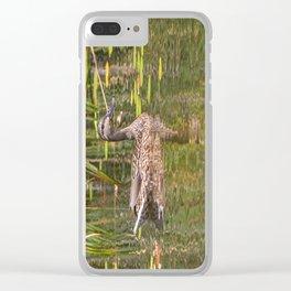 Quacker Clear iPhone Case