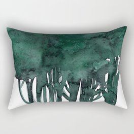 Tree Impressions No.1D by Kathy Morton Stanion Rectangular Pillow