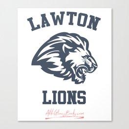 The Field Party - Lawton Lions Canvas Print