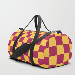 Checkered Pattern VII Duffle Bag