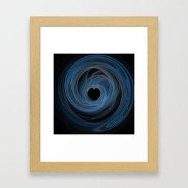 Valentine's Fractal VI - Dark Framed Art Print