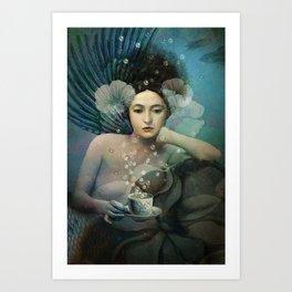 Under The Sea Canvas Print Art Print