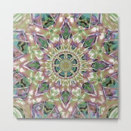 Abstract Flower AA YY Q Metal Print