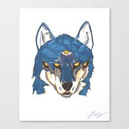 Third Wolf Canvas Print