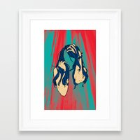 cancer Framed Art Prints featuring Cancer by Rendra Sy
