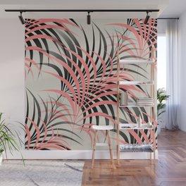 Flamingo Fling - Abstract Wall Mural