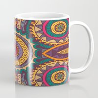 coral Mugs featuring Coral by Arcturus
