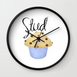 Stud Muffin Wall Clock