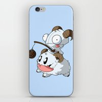 invader zim iPhone & iPod Skins featuring Invader Poro by HelloTwinsies