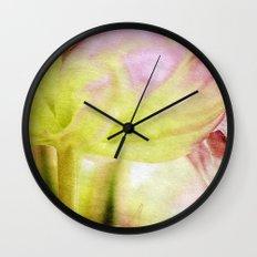Soul Food -- Tulips at Large Wall Clock