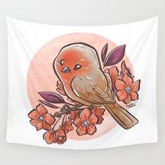 Spring Bird Wall Tapestry