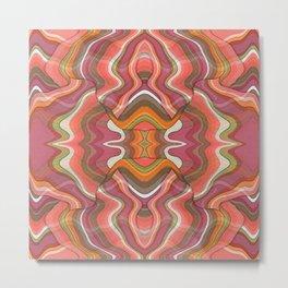 Coral Waves 3 Metal Print