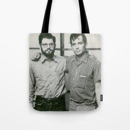 Allen Ginsberg and Jack Kerouac Tote Bag