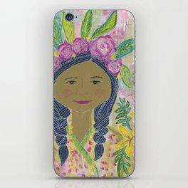 Warrior Spirit Zendaya Rose iPhone Skin