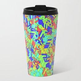 Fuck you Colors Travel Mug