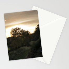 End of a lovely day Stationery Cards