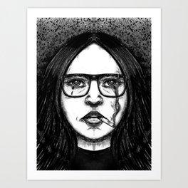Mono Glasses I Art Print