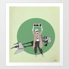 Scout anything Art Print