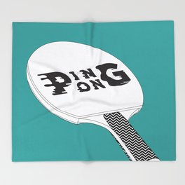 Ping Pong Throw Blanket