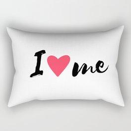 QUOTE I Love Me Rectangular Pillow