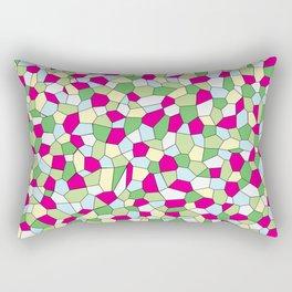 Pastel Mosaic Rectangular Pillow