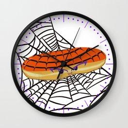Desserts - Eclair -Halloween Edition- Wall Clock