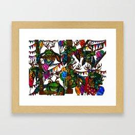 trapeze   Framed Art Print
