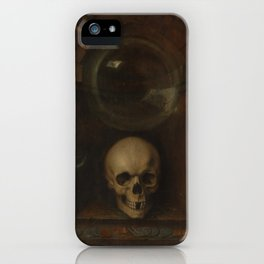 Jacques de Gheyn II - Vanitas Still Life (1603) iPhone Case