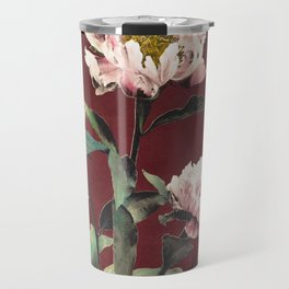 Wood Carving, hand–colored albumen silver print from Japan (1897) by Kazumasa Ogawa 2 Travel Mug