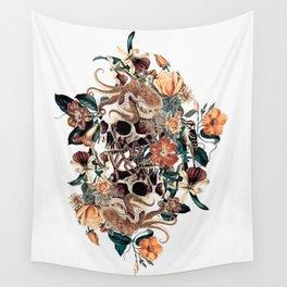 Fantasy Skull Wall Tapestry